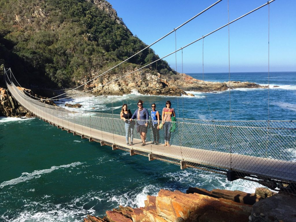 garden route - bridge