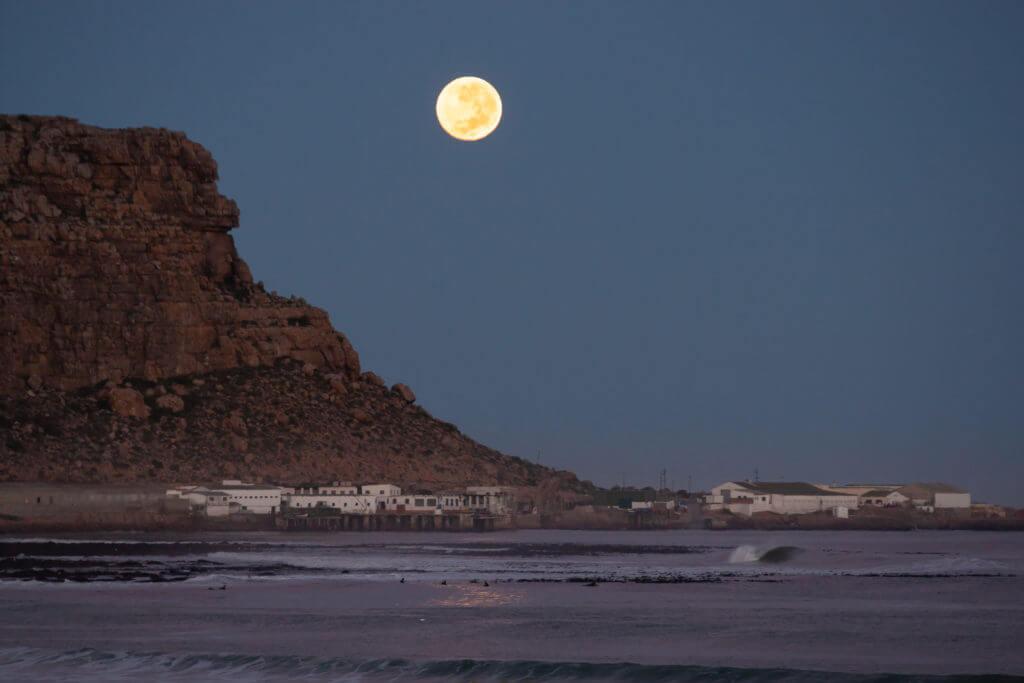 Elands Bay - big moon