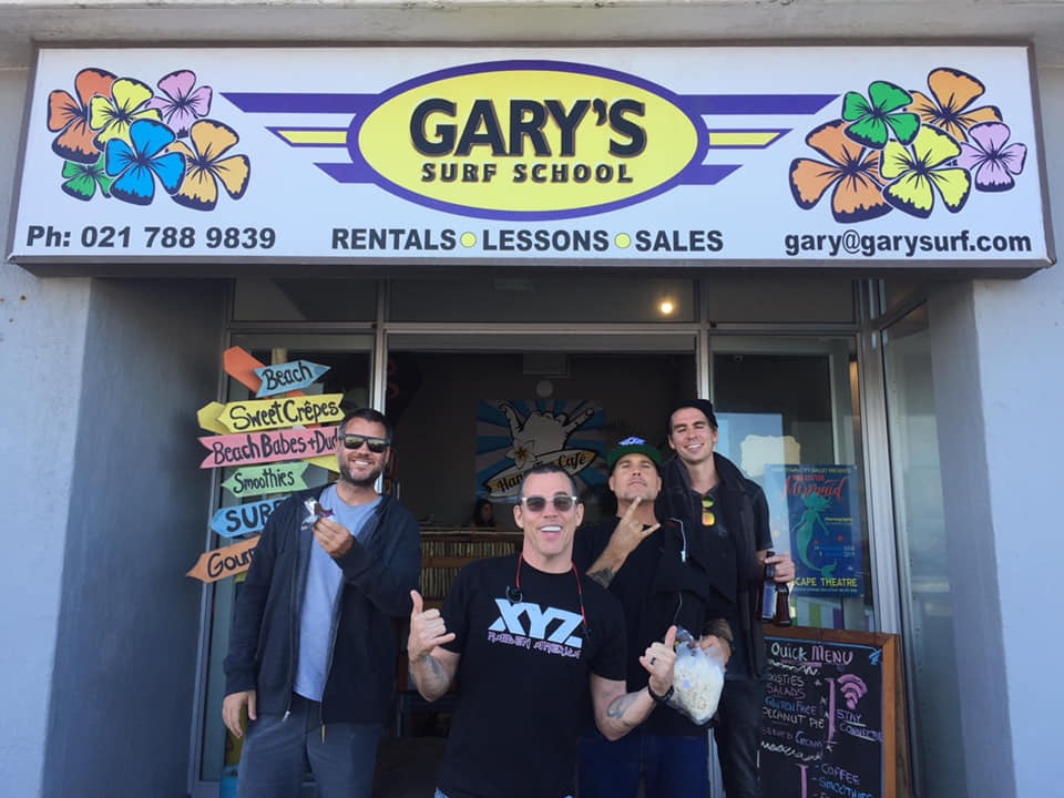 Steve-O at gary surf school