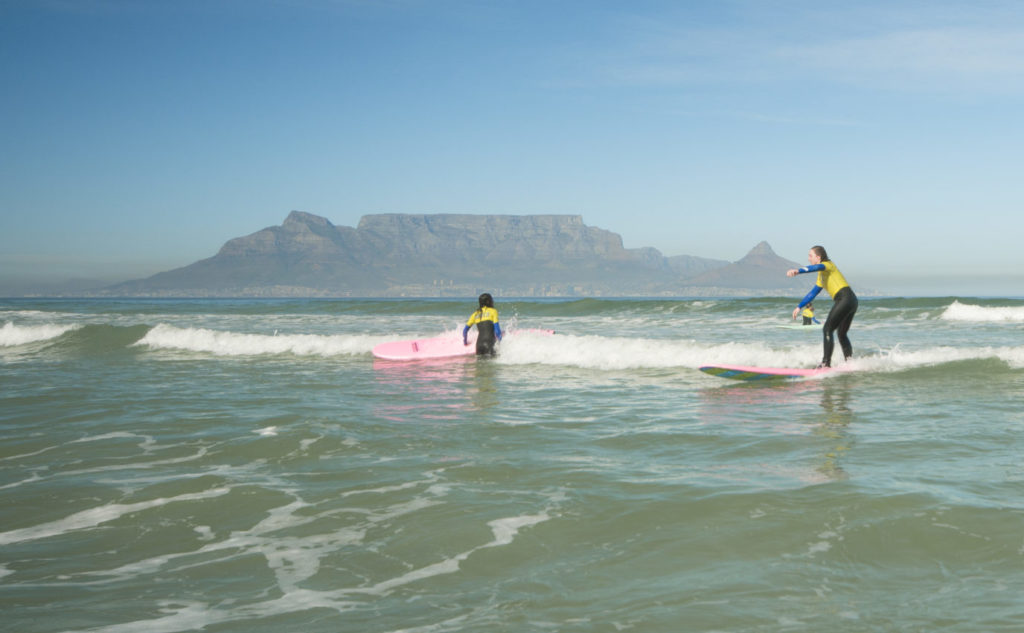 learn to surf blouberg