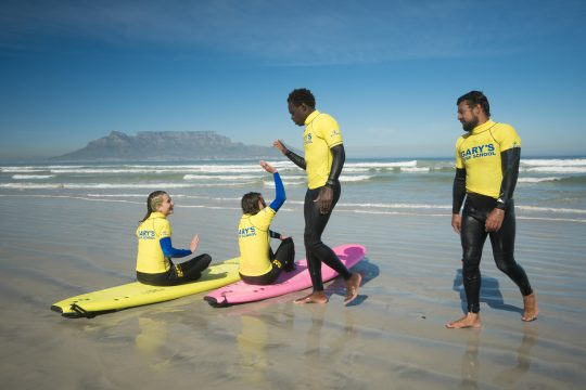 Surf lessons Big Bay