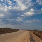 Elands Bay - gravel road